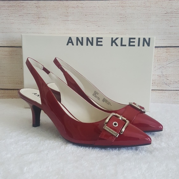 978bbfc4f09 New Anne Klein Fenris Patent Leather Pumps